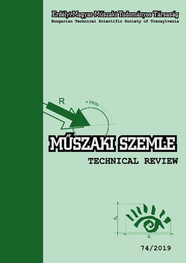 Műszaki Szemle 74/2019