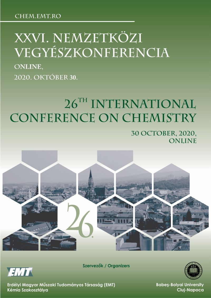 View XXVI. Nemzetközi Vegyészkonferencia / 26th International Conference on Chemistry